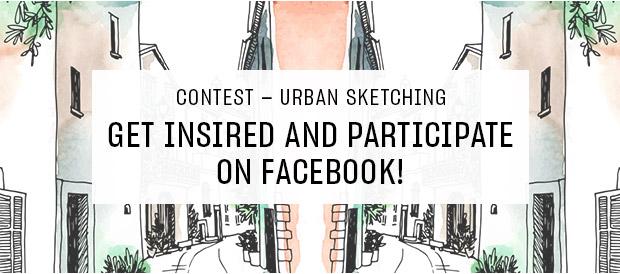 contest - urban sketching!