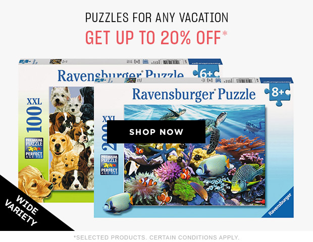 puzzles for any vacation