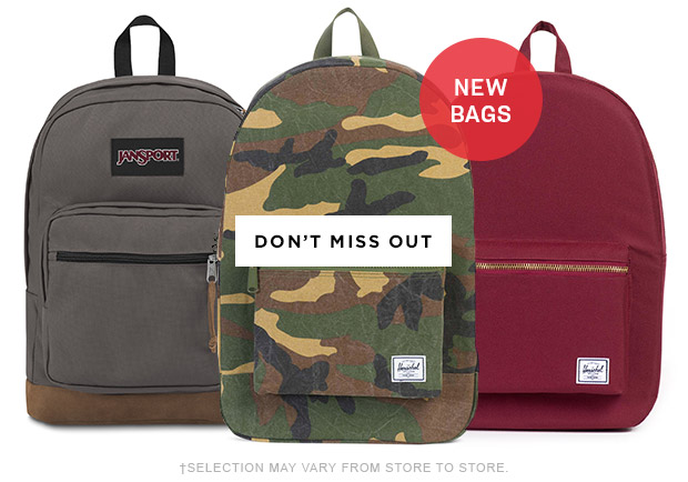 NEW BAGS : Don't miss out